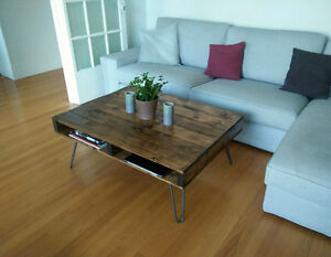 Custom built Coffee Tables, Tables basses construit sur ​​mesure