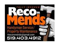 Handyman, Property Maintenance Service