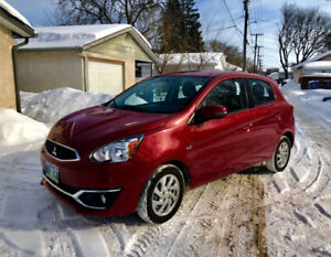 2017  Mirage   ***9,000km***   /  SAFETY  /     auto    start