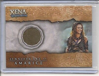 Xena  C12 Jennifer Sky Costume card