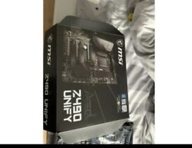 Z490 msi unify motherboard