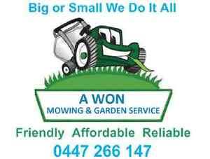 AWON MOWING AND GARDENING SERVICES Newstead Launceston Area Preview