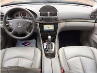LHD LEFT HAND DRIVE MERCEDES E320 CDI AVANTGARDE ESTATE 2004 IMMACULATE BLACK COLOUR