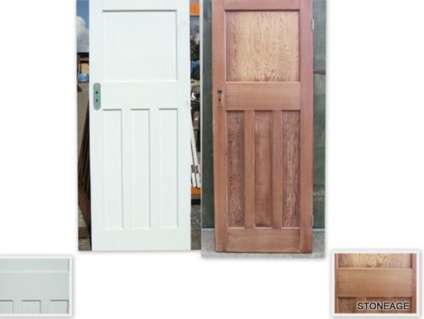 Lovely Door Stripping Of Paint/varnish ! Furniture Back To Original . Staircase ,  Handrail,