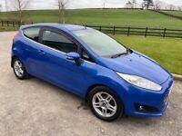 FIESTA 3dr Hatchback, 2014, 1.5 TDCI (Zero Tax)