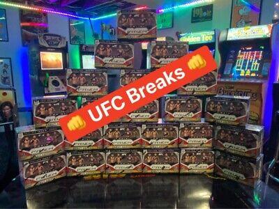 2021 UFC Prizm BREAK Read Description Details Blaster Random Divisions Not Boxes