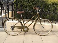 Bobbin Bramble 2016 Ladies Traditional Bike - Green Gold £250