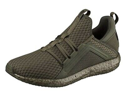 PUMA Men's running Shoes NRGY Green Kaki Size 11 / EUR 46