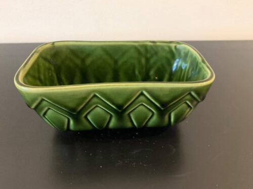 Brush , Green Candy Dish , Mint Condition.