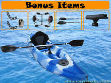 NEW STOCK 2015 Super DELUXE SINGLE Seater Kayak Packages $499 Albion Park Shellharbour Area Preview