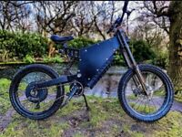 Electric stealth bike 8000w Enduro frame 78mph