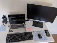 24 inches Ultra Slim Full HD computer monitors