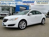 2015 Buick Regal Sdn Turbo AWD *Heated Leather*