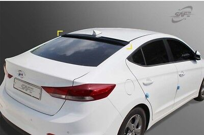 SAFE Rear Smoke Tinted Visors for 2016 - 2018 Hyundai Elantra AD