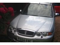 Rover 45 MG 2004: £550. MOT, leather seats, moving to Netherlands, currently present in driveway.