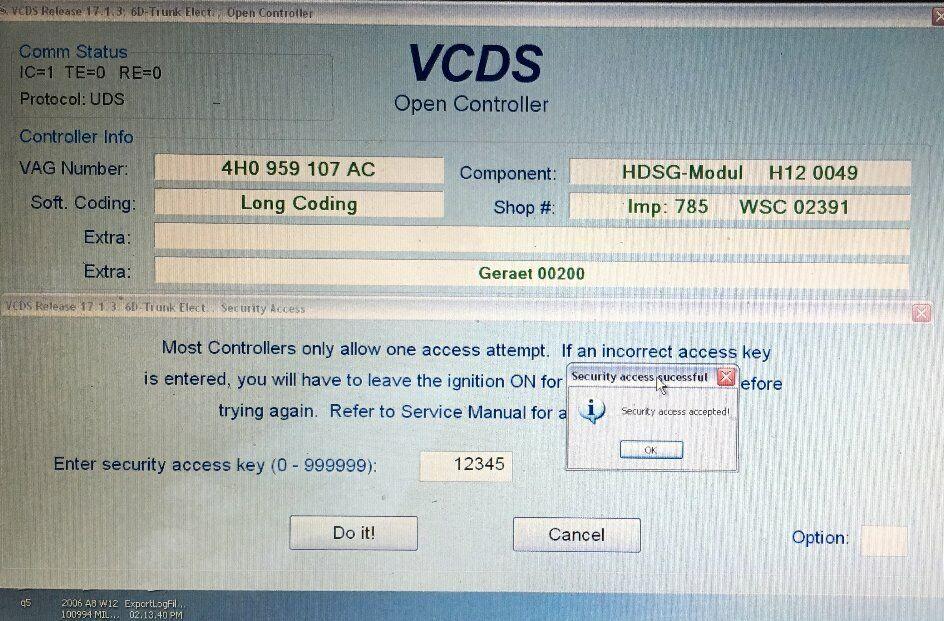 VCDS (VAG COM) Diagnostic Scanning + Coding + Adaptation for Audi VW