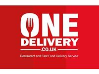 Food Delivery Driver Earn up to £15 per Hour.