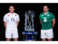 2 x Six Nations England vs. Ireland Twickenham tickets - Section L13