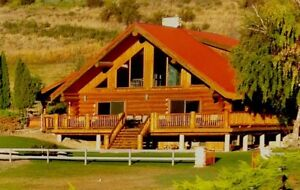 Penticton Log Home Rental Nov. 1- Apr. 1/2019