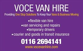 VAN SERVICING AND REPAIRS LEICESTER (CALL 0116 2694141)