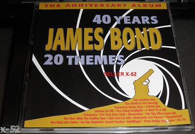 Anniversary Themes (007 JAMES BOND CD 20 themes RARE United Studio Orchestra ANNIVERSARY)