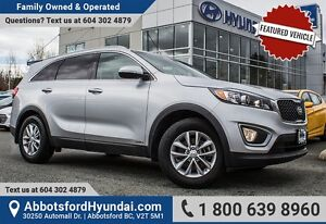 2017 Kia Sorento 2.4L LX CERTIFIED ACCIDENT FREE
