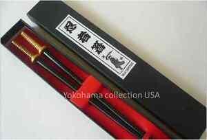 Japanese Samurai Ninja Sword Chopsticks W/Box/ CSA1-G