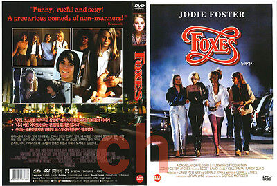 Foxes (1980) - Adrian Lyne, Jodie Foster, Cherie Currie  DVD NEW