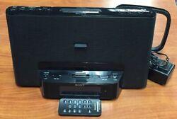 SONY LIGHTNING IPHONE/iPod Alarm Clock Radio Speaker Dock ICF-CS15iP w/ Remote