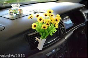 car van truck flower decor interior accessories decals novelty gift air con vent ebay. Black Bedroom Furniture Sets. Home Design Ideas