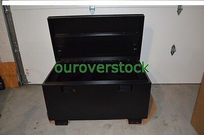 Cargo Box Job Box Black