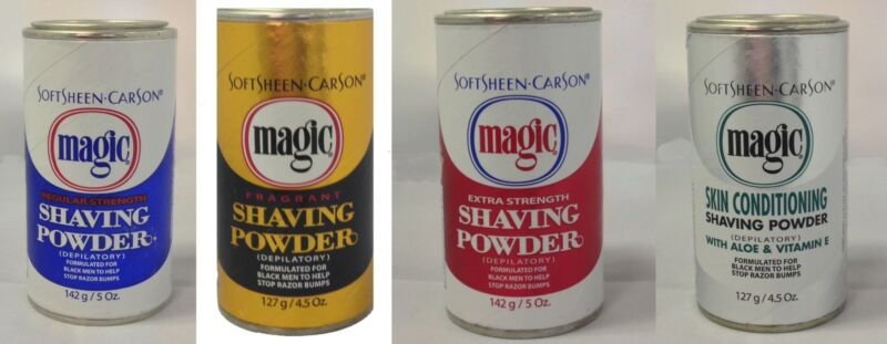 Magic Shaving Powder Pubic Body Hair Remover 127gm All Types 1