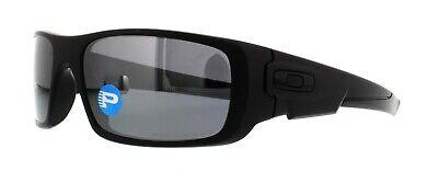 Oakley Crankshaft POLARIZED Sunglasses OO9239-06 Matte Black W/ Black Iridium