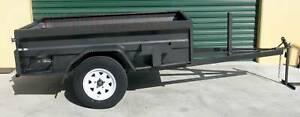 7x4 Off Road High Side Box trailer Camper Trailer