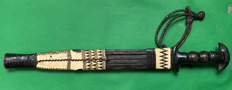 African Knife Dagger Tribal Leather Sheath