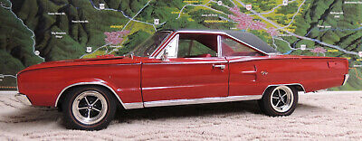 1967 DODGE CORONET PARTS CAR HIGHWAY 61/DCP 1:18 SCALE DIECAST MODEL CAR