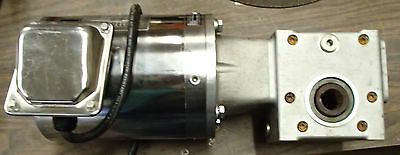 Sterling Electric Sbo014mca 3-ph Ss Motor Cone Dr B031020 Waat1 Reducer 1hpmtr