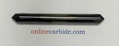14 4 Flute 90 Degree Carbide Chamfer Mill - Double End - Tialn Coated