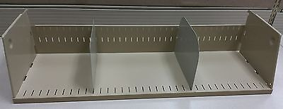 3 Used Shelves 36 Wide 2 Dividers 6 Tall For Cubiclepartitionworkstation