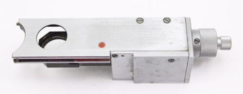 Reichert Leica Polylite Polyvar Nomarski DIC Prism Slider Microscope