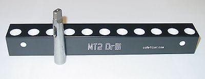 2 Morse Taper Shank Drill Bit Storage Rack Wall Mounting Stand Mt2 2mt Set Au1