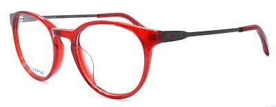 CONVERSE Q305 Men's Eyeglasses Frames Round 48-20-140 Red + (Red Eyeglass Frames For Men)