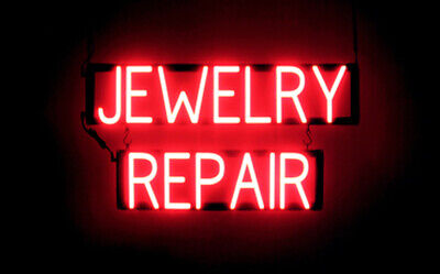 Spellbrite Ultra-bright Jewelry Repair Sign Neon Look Led Performance