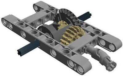LEGO Technic 10 Piece Differential Pack - Large Frame Gear Set EV3 Mindstorms