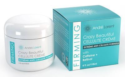 $79 Andre Lorent Crazy Beautiful Anti Cellulite Creme Formula 4oz Firming Cream