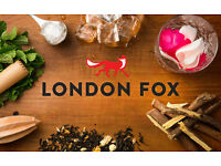 London Fox - Promotion and retail sales person