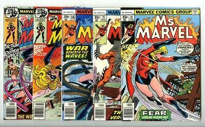 Ms Marvel 1 2 3 4 5 6 Kamala Kham Complete Comic Lot Run Set EXCELSIOR BIN