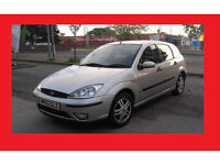 Ford focus 2003 1.6 5d hatch Good condition