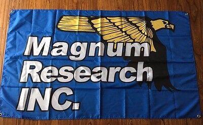 Magnum Research Inc Flag Banner Sign 3 X 5 Desert Eagle