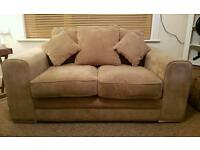 2 Seater Sofa with reversible Cushions